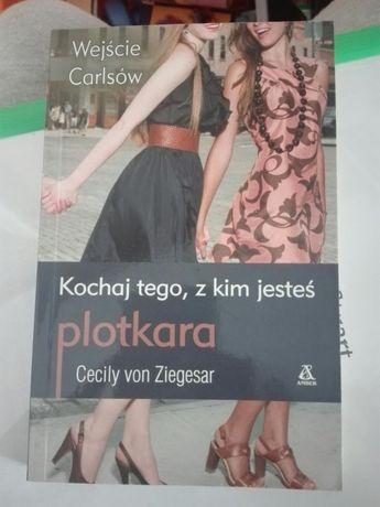 """Plotkara """"Kochaj tego, z kim jesteś"""" Cecily von Ziegesar"""