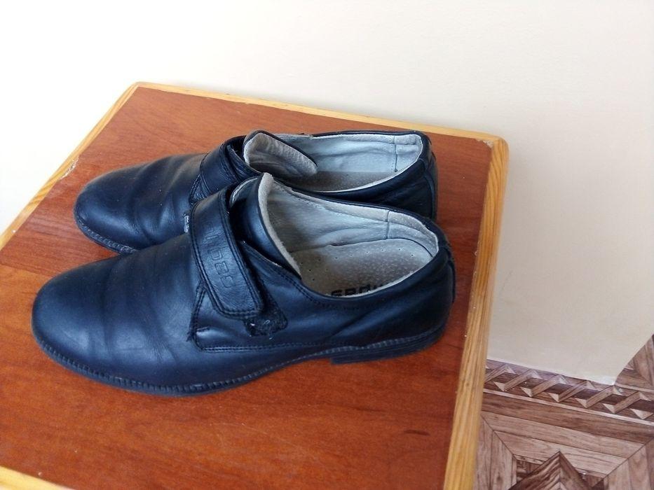 Туфли кожа 35 р. На мальчика Чернигов - изображение 1