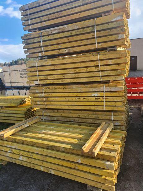 Sklejka szalunkowa szalunki stropowe dźwigary H 20 podpory 20 KN