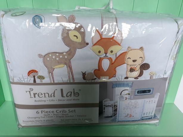 Детский постельный набор Trend Lab (США), 6 единиц