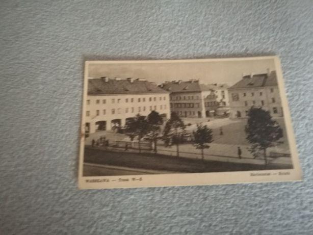Pocztówka Warszawa Trasa W-Z Mariensztat - Rynek