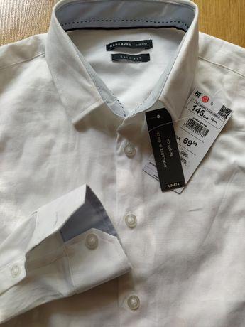 Koszula komunia biała 146, nowa
