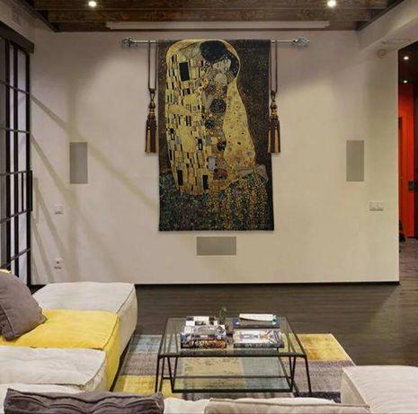 Gobelin,pled, kilim, makatka - obraz Klimta PREZENT ŚLUBNY