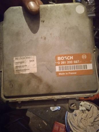 Блок управління двигуна на Пежо 605