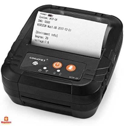 Impressora talões Bluetooth portátil - 80MM Android, iOS e Windows QR