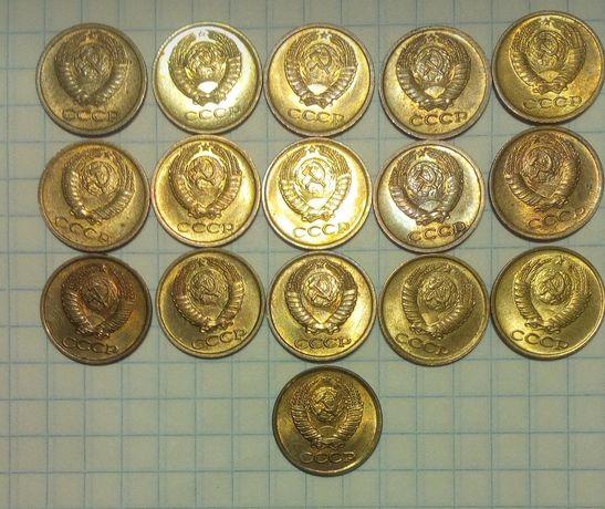 монеты ссср (штемпельный блеск)