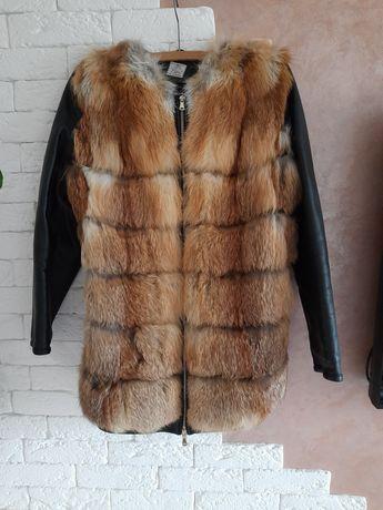 Дублянка, куртка з хутра