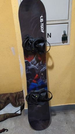 Snowboard Deska Libtech TRS 154 z wiązaniami Union Contact Prp