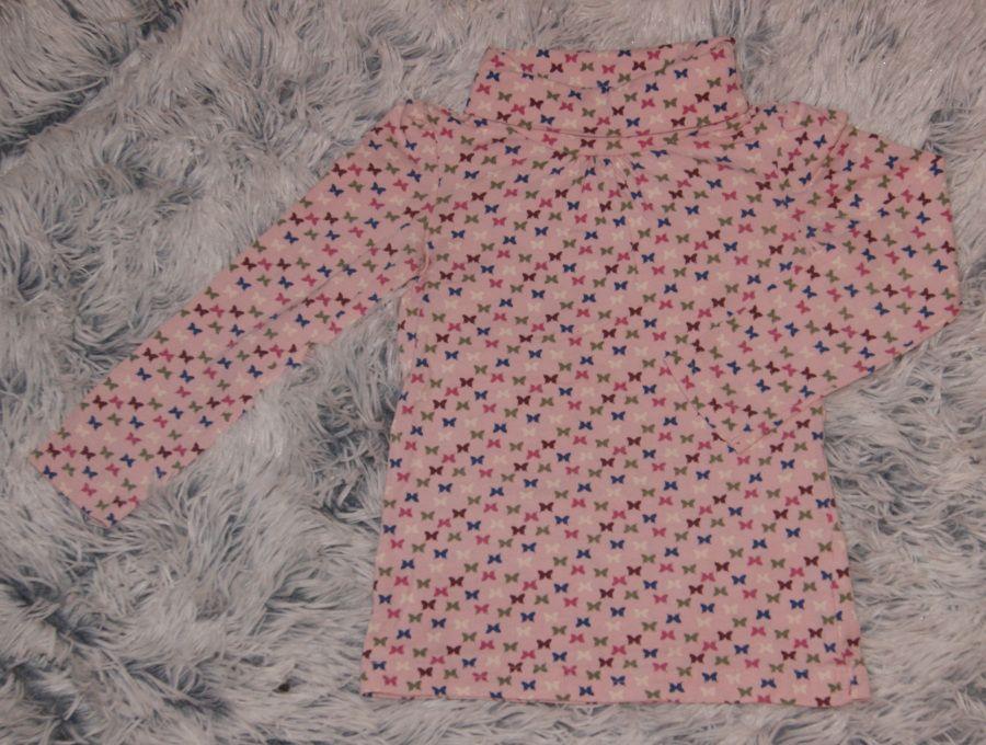 Papagino sweter golf różowy motylki r. 86/92 cm Tarnowskie Góry - image 1