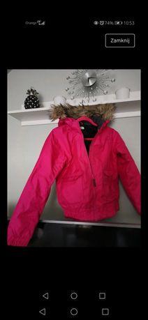 Kurtka zimowa dla dziewczynki H&M 146