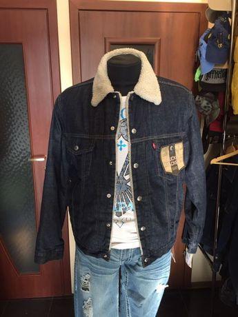 Джинсовая куртка Levi's Sherpa из США, РАЗМЕРЫ, Levis,100% ОРИГИНАЛ.
