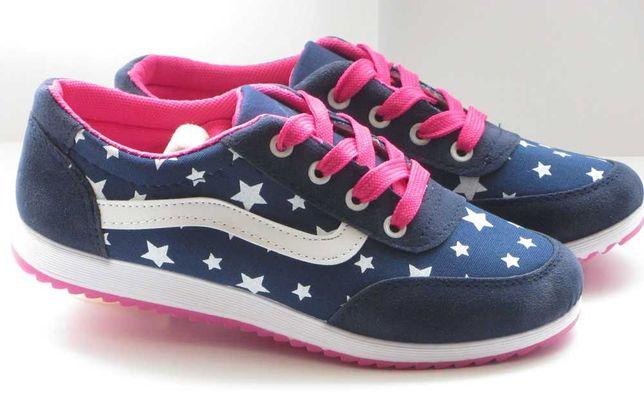 Кроссовки для девочки CANOA blue, р.36 (23,3см)