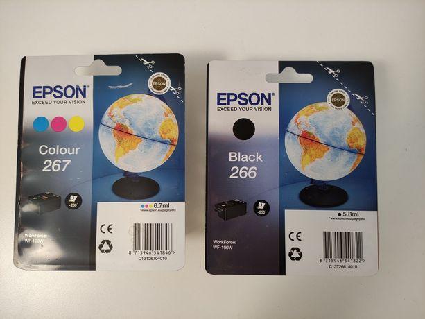 Набор картриджей Epson 266 и 267 для Epson Workforce wf-100w
