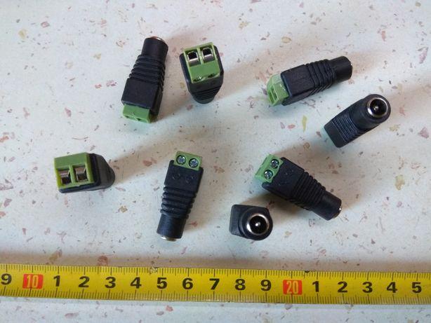 DC Разъем 5.5x2.1 Мама Коннектор подключение видеокамер БП лент LED