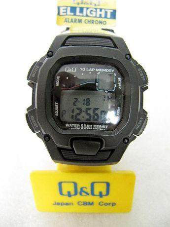 Часы Q&Q, электронные, 50 м, спортивные, на липучке, новые