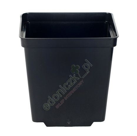 Doniczka produkcyjna kwadratowa 14x14/14cm - 2L - 100szt