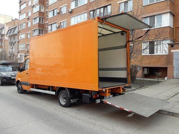 Грузоперевозки по Украине Мебельный фургон с ПОДЪЕМНИКОМ