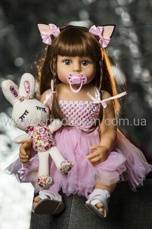 АКЦИЯ!!! Кукла Реборн силиконовая reborn куклы для девочек большие