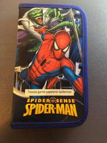 Nowy piórnik z przyborami Spider-Man Okazja!!
