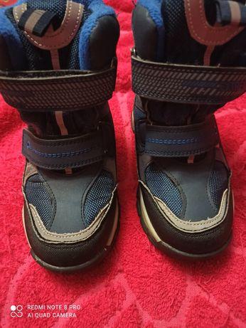 Продам детские зимние ботинки на мальчика