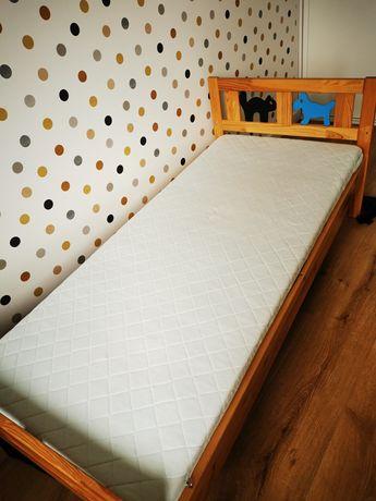 Łóżeczko dziecięce drewniane Ikea Kritter 160x70