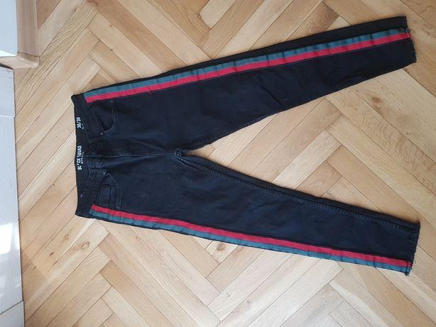 Spodnie dżinsowa czarne rozmiar 30/30