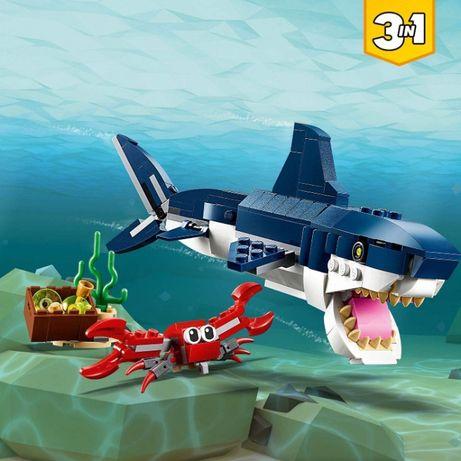 LEGO CREATOR Morskie stworzenia 3w1 31088