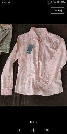 Nowa Różowa koszula 152 cm