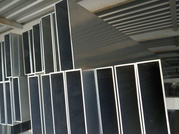 Profil aluminiowy 140x18x2, sztacheta 6mb