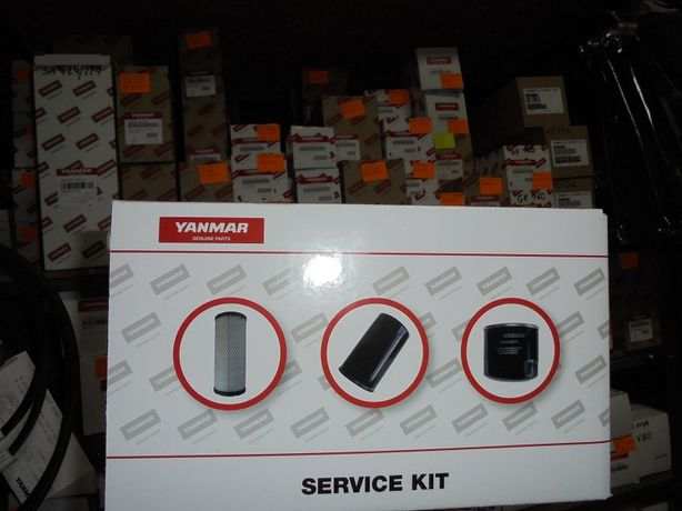 Yanmar B15-3 zestaw filtrów 500 mth B15 B15-3, B17-3, B18