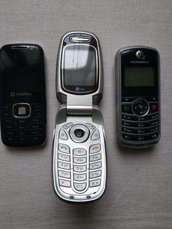 LG, Motorola, Vodafone лот непрацюючих телефонів