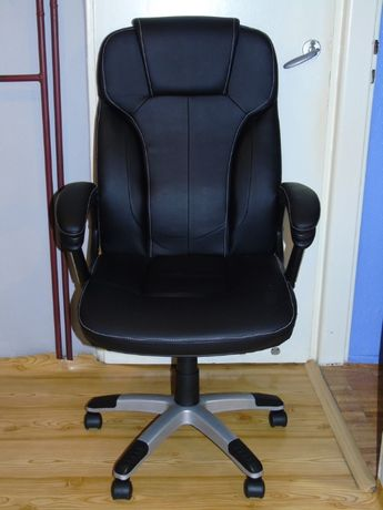 Solidny, Obrotowy FOTEL (Krzesło) BIUROWY, Komputerowy, GABINETOWY!!!