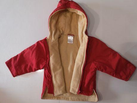 Czerwona kurtka r. 80 nowa