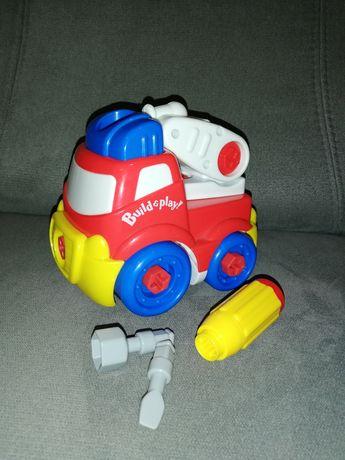 Wóz strażacki do skręcania.