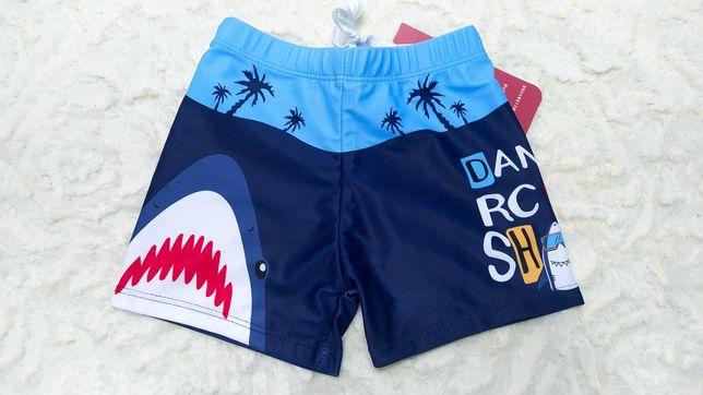 Плавки с акулой пляжные шорты для мальчика