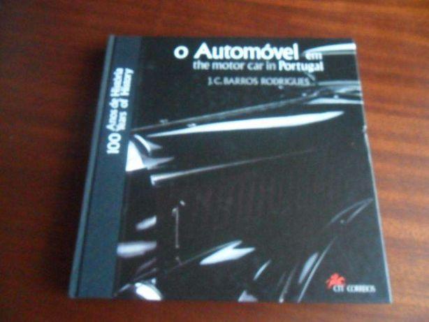 """""""O Automóvel em Portugal"""" de J. C. Barros Rodrigues - Livros CTT"""