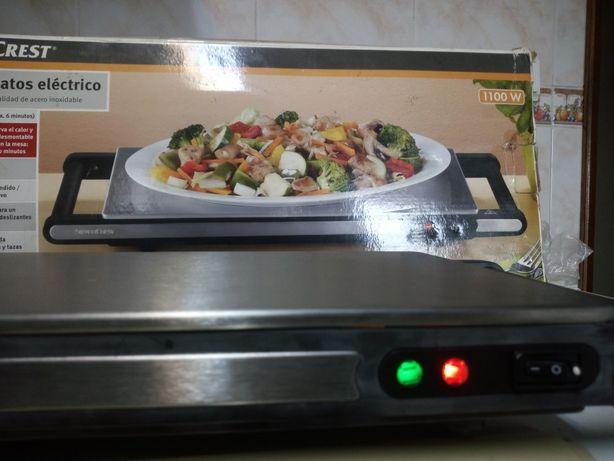 Aquecedor de pratos elétrico marca SILVER CREST 1100W  NOVO