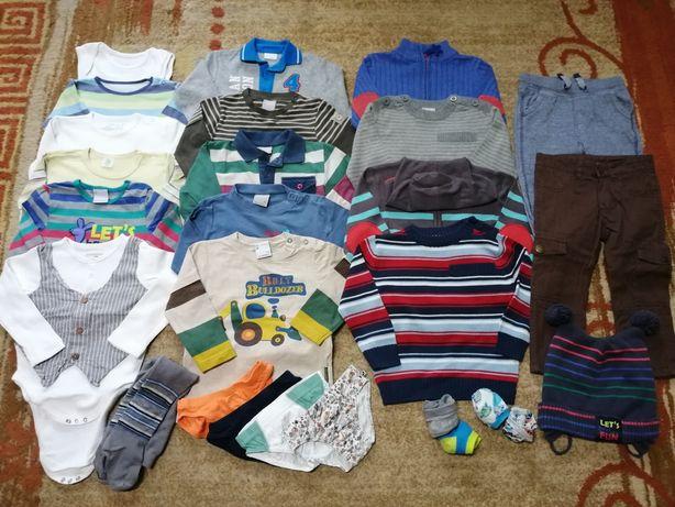 5. Paka zestaw komplet ubrań 92 Cocodrillo swetry body spodnie