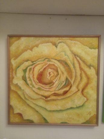 Sprzedam obraz olejny Róża 3