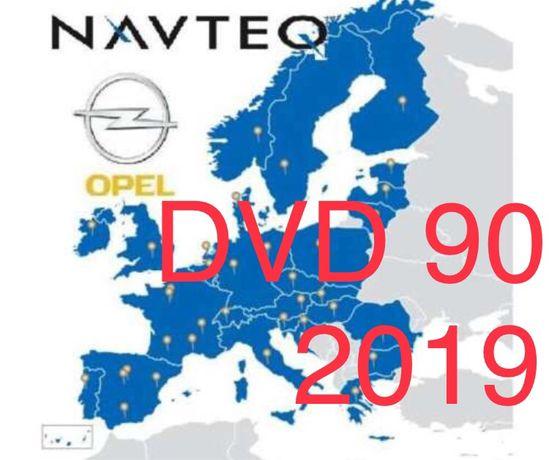 Mapa Polski Opel 2019 DVD 90 Zafira B Astra H Signum spolszczenie
