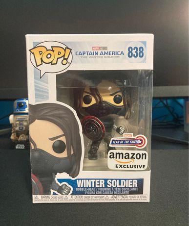Funko POP Marvel Winter Soldier Марвел Зимний Солдат Баки футболка
