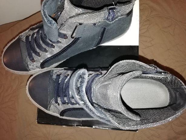 Geox демисезонные ботиночки кеды кроссовки 37р