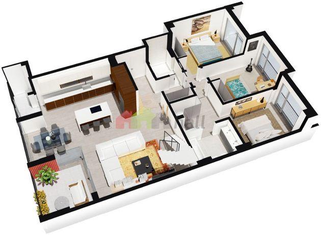 Duplex T3+1 Novo Montijo | Acabamentos de Luxo Bons Acessos a Lisboa