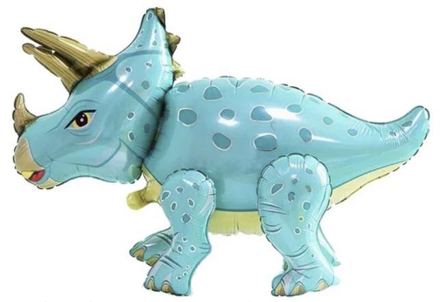 Шары динозавры 3D фольгированные