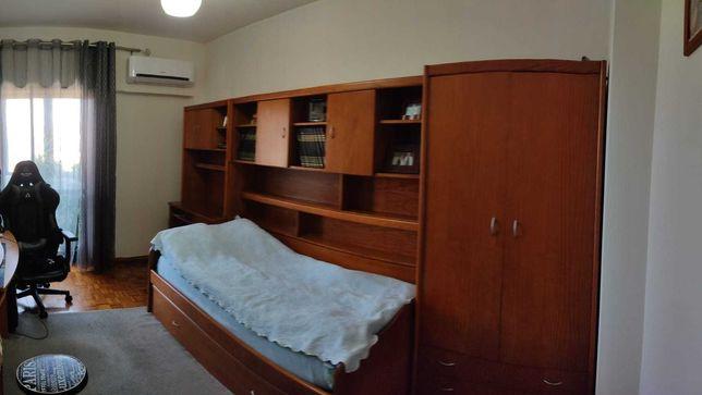 Quarto de criança, juvenil, solteiro ( estúdio ), 2 camas, 3 modulos.