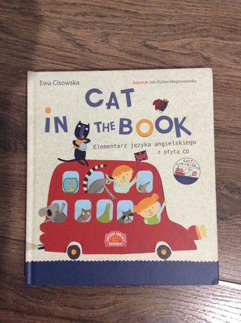 Elementarz języka angielskiego Cat In The Book Ewa Cisowska NOWA