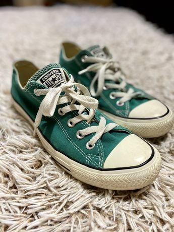 Buty converse krótkie zielone 41