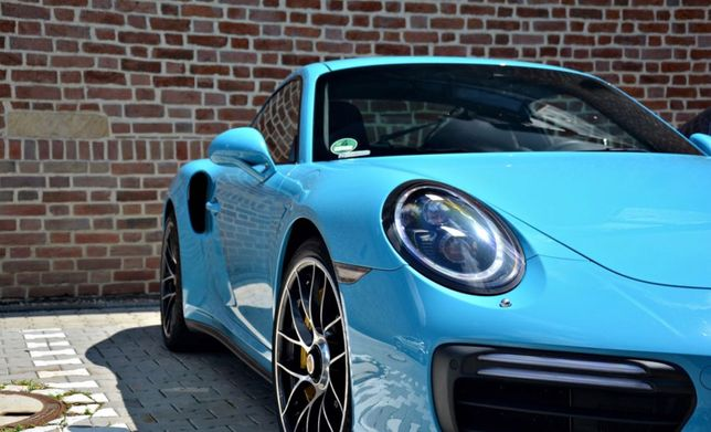 Sportowe auto do ślubu PORSCHE 911 TURBO S