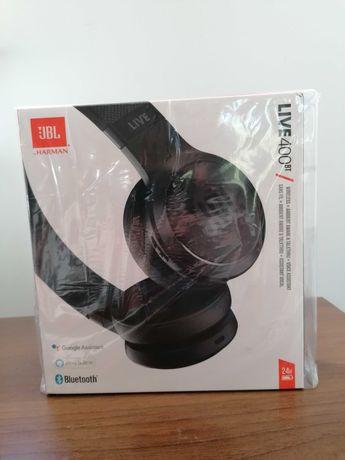 NOWE Słuchawki bezprzewodowe JBL Live 400BT Czarny