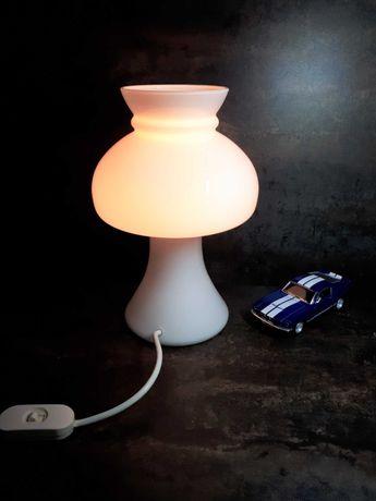 Lampa szklana grzybek lata 60 vintage prl